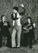 Diego Vargas, Miguel El Funi y David Serva. Gilles Larrain Studio, NYC, 1988