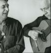 Luis Agujeta Y Gilles Larrain a la guitarra. Gilles Larrain Studio, NYC, 2003
