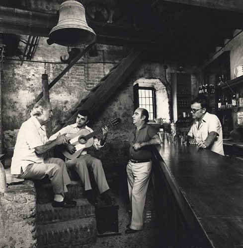 Luis Caballero, Luis Postigo, Narangito de Triano y Paco Lira