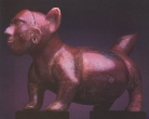 Dog With Mask - Shaft Tomb Culture, Ceramic, Proto-Classic