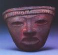 Mask - Teotihuacan, Ceramic, Classic