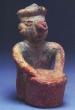The Musician - Aztec, Ceramic, Late Post-Classic