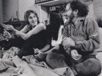 John Lennon, Yoko Ono and Jerry Rubin, New York, 1972